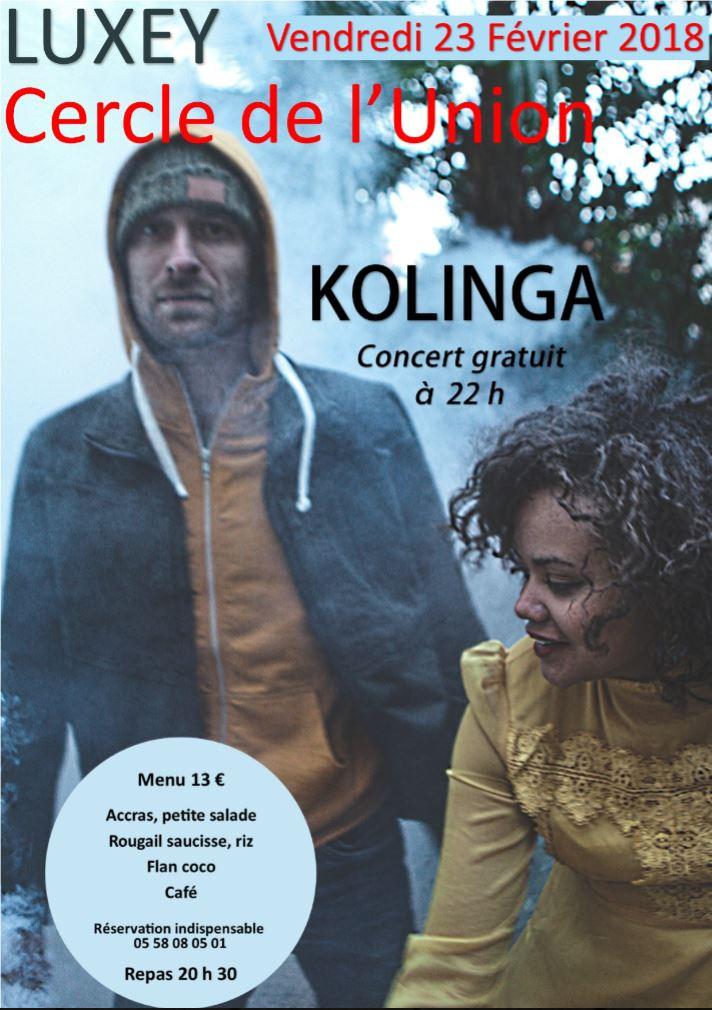 affiche kolinga luxey